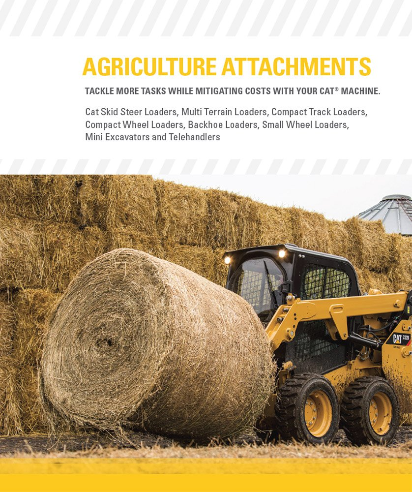 Cat Equipment - Attachment Solutions for Agriculture