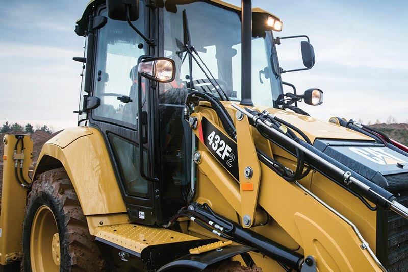 Cat 432F2 Backhoe Loader