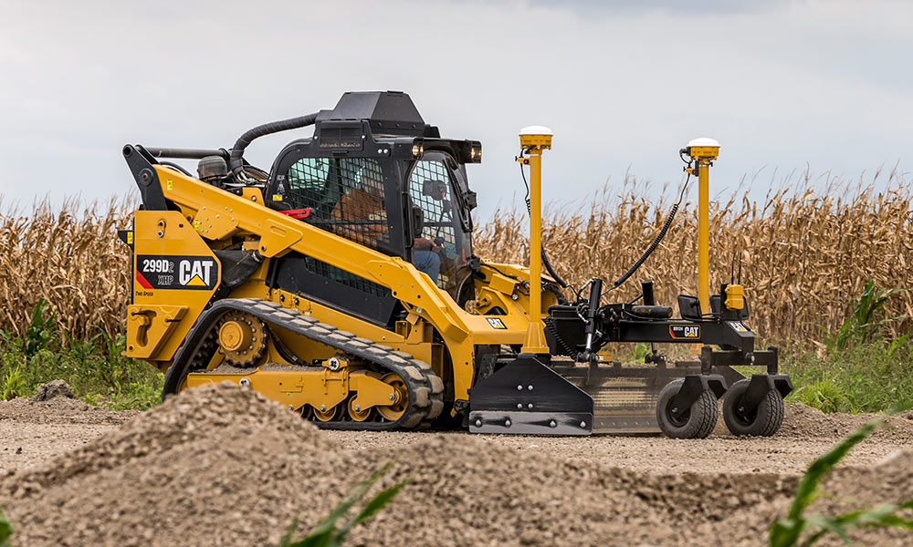 Cat 299D2 Compact Track Loader