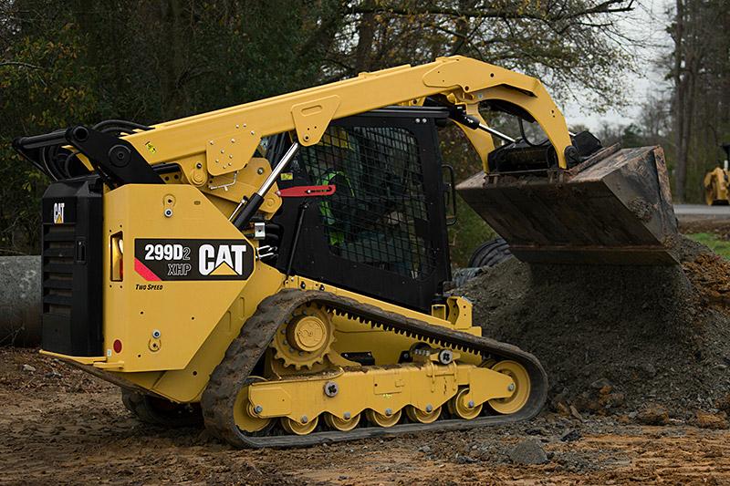 Cat 299D2 Compact Track Loader